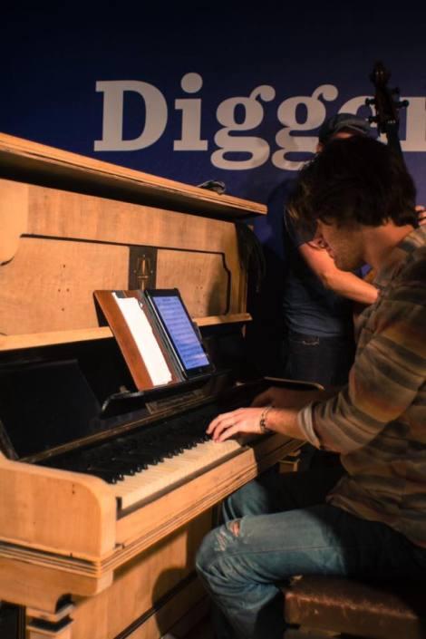 Optreden: Jazz pianist Sander de Bie